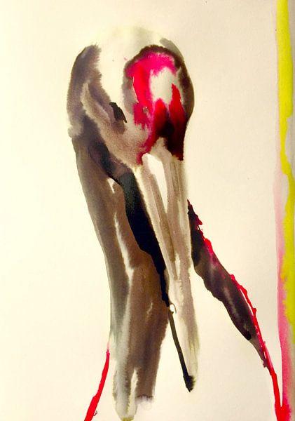 Der Kranich von Helia Tayebi Art