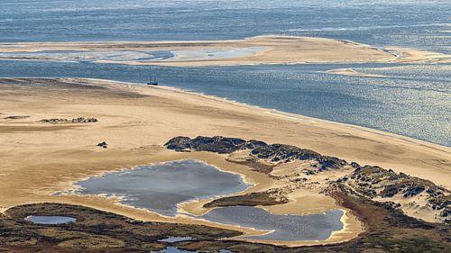 Noordsvaarder en zandplaat Engelschhoek van