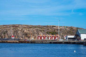 Blick auf den Ort Kungshamn in Schweden von Rico Ködder