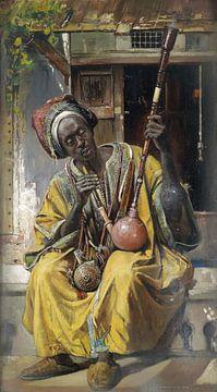 Bong Raucher - Gyula Tornai- 1903 von Atelier Liesjes