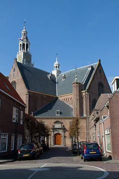 Maassluis-Grote kerk of Schanskerk van Hans Blommestijn