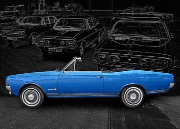Opel Commodore A Cabriolet (Originalfarbe) von aRi F. Huber