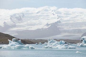 Jökulsarlon gletsjermeer van Ewan Mol