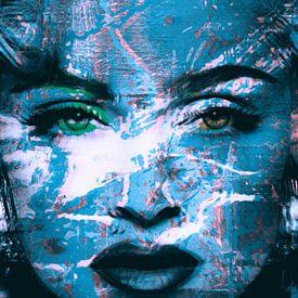 Motiv Porträt Madonna - Sexy View 3 D - 01 von Felix von Altersheim