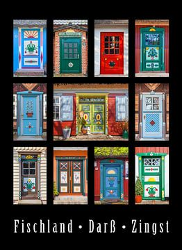 Mooie deuren in Fischland Darß en Zingst van Christian Müringer