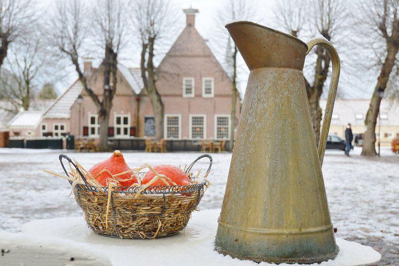 winters stilleven van Ger Nielen