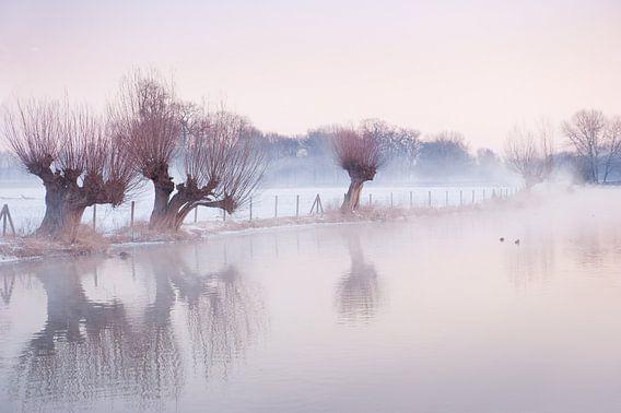 Sneeuwlandschap in Amelisweerd van Chris Heijmans