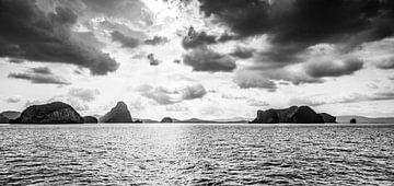 Berg im Meer von Paul Vergeer