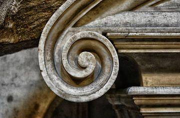 Detail eines italienischen Kunstwerks von Dennis Morshuis