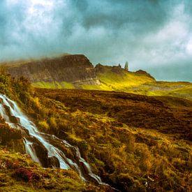 Bride's Veil Waterfall van Lars van de Goor