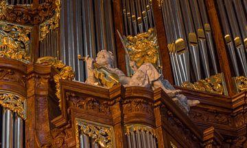Detail, Vater/Müller-orgel - Amsterdam van M Van Rossum