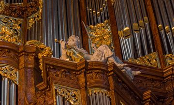 Detail, Vater/Müller-orgel - Amsterdam van