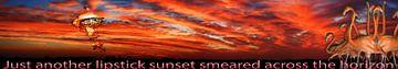 Lipstick Sunset van Terra- Creative