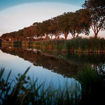 Herfstlicht in Friesland van Rene  den Engelsman