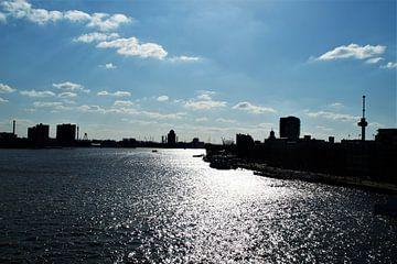 Maas Rotterdam rivier / river van Maurits Bredius