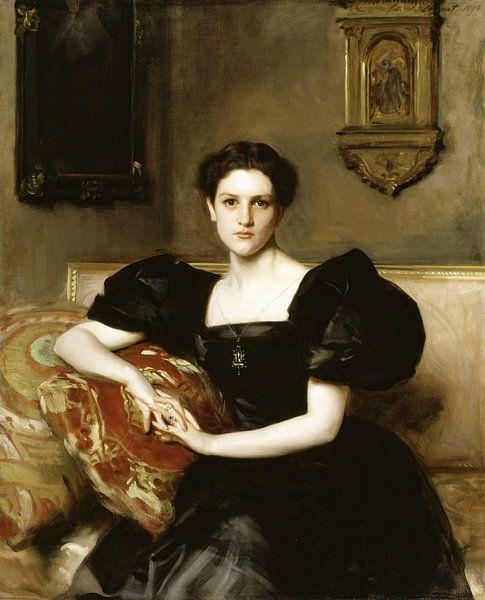 John Singer Sargent-Elizabeth Winthrop Chanler (Frau John Jay Chapman) von finemasterpiece