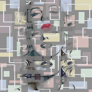Triple édition de Marilyn Monroe sur Rudy en Gisela Schlechter