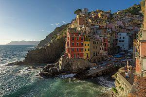 Zicht op Riomaggiore / Cinque Terre