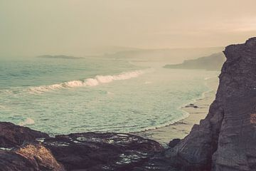 Wilde Küste Portugal mit Brandung von FOTOFOLIO.DE