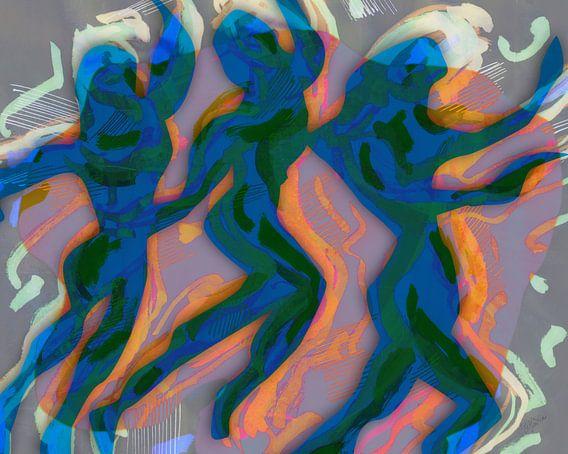 Tribal dance A