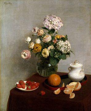 Fleurs et fruits, Henri Fantin-Latour sur