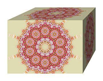 Blüten Block (Beige) von Caroline Lichthart
