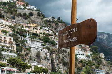 Welcome in Positano van Patrick Verhoef