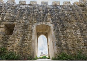Kasteel in Montemor-o-Velho, Portugal