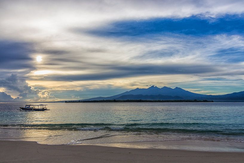 Lever de soleil à Gili Meno en Indonésie sur Tux Photography