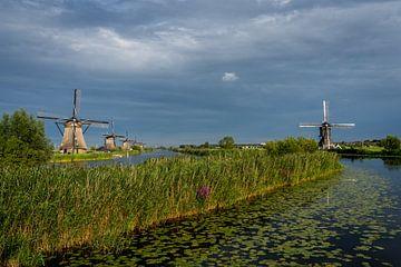 Windmühlen von Kinderdijk von Kim Claessen