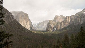 Tunnel View, Yosemite von Dorien Mast