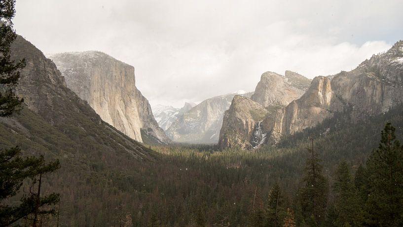 Tunnel View, Yosemite van Dorien Mast