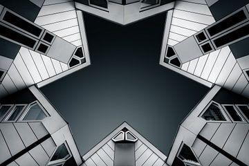 Rotterdam Cubes sur Martijn Kort