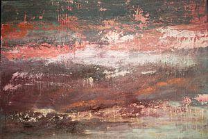 Roter Himmel 01 von Willie Roosenbrand Art