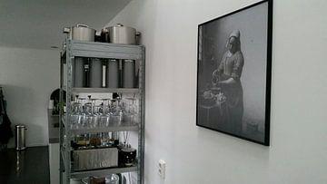 Kundenfoto: Het Melkmeisje - Johannes Vermeer