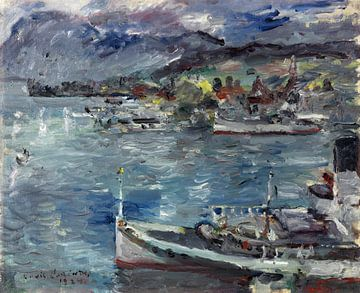 Lovis Corinth, Vierwoudstrekenmeer, 1924 van Atelier Liesjes