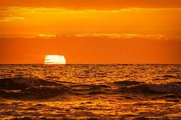Sonnenuntergang Insel Texel