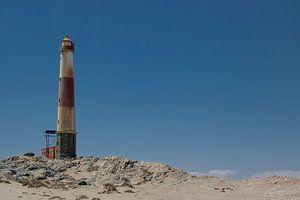 Namibië | Vuurtoren van Lüdertiz van Mark Zoet