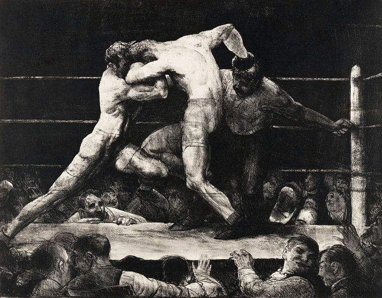 Männer-Veranstaltung im Sharkey's, 1917 von Atelier Liesjes