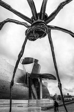 Kunstwerk Maman (Spinne), Guggenheim Museum in Bilbao von Arina Keijzer