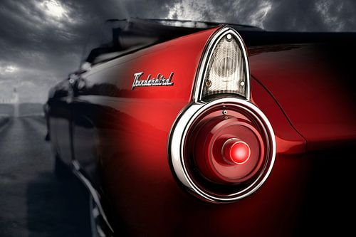 1955 Ford Thunderbird van