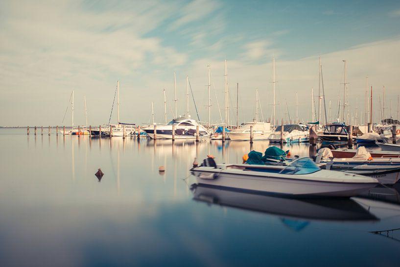 Yachthafen von Grado van Hannes Cmarits