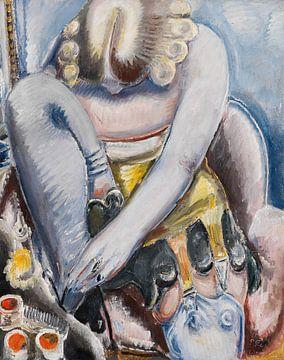 Ballerina zieht Schuhe an - PAUL KLEINSCHMIDT, 1939. von Atelier Liesjes