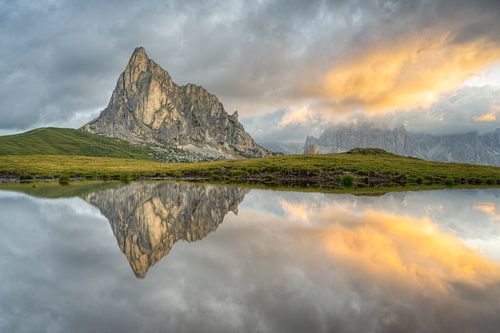 Monte Gusela am Passo di Giau