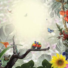 Jungle love van Leon Brouwer