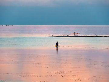Kleurrijke visserij in de wateren van Moalboal op Cebu Island in de Filipijnen van Rik Pijnenburg
