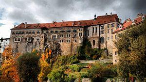 Schloss Krumau/Böhmen 01