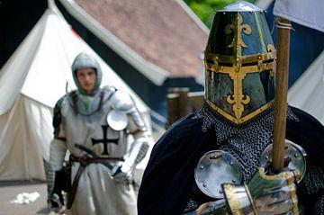 De ridder en zijn schildknaap van Wim van der Geest