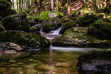 The Hérisson waterfalls sur