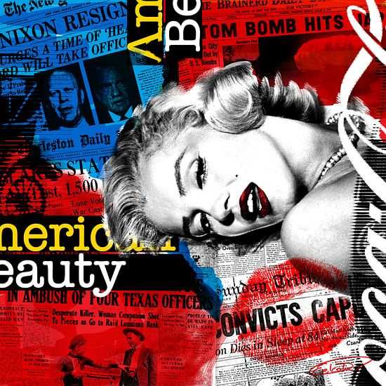 American Beauty 2 van Waskracht Ontwerpers